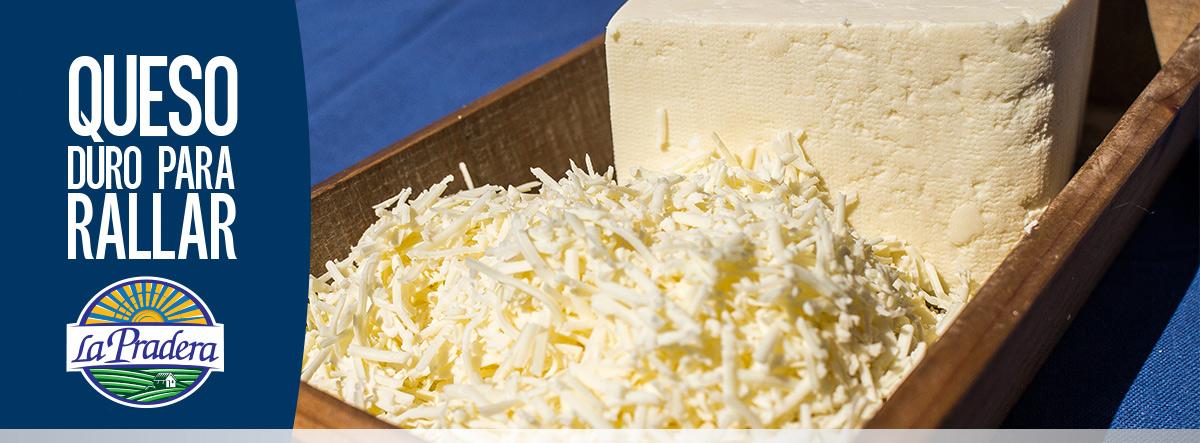 queso duro rayado