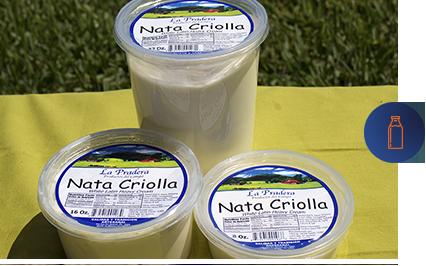 envase de nata criolla